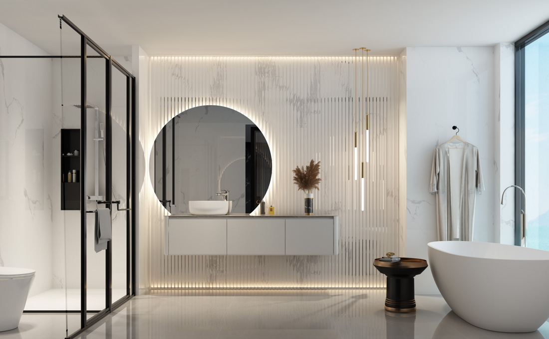 7.6㎡/#JTL3820005 现代轻奢,令人心动的卫浴空间