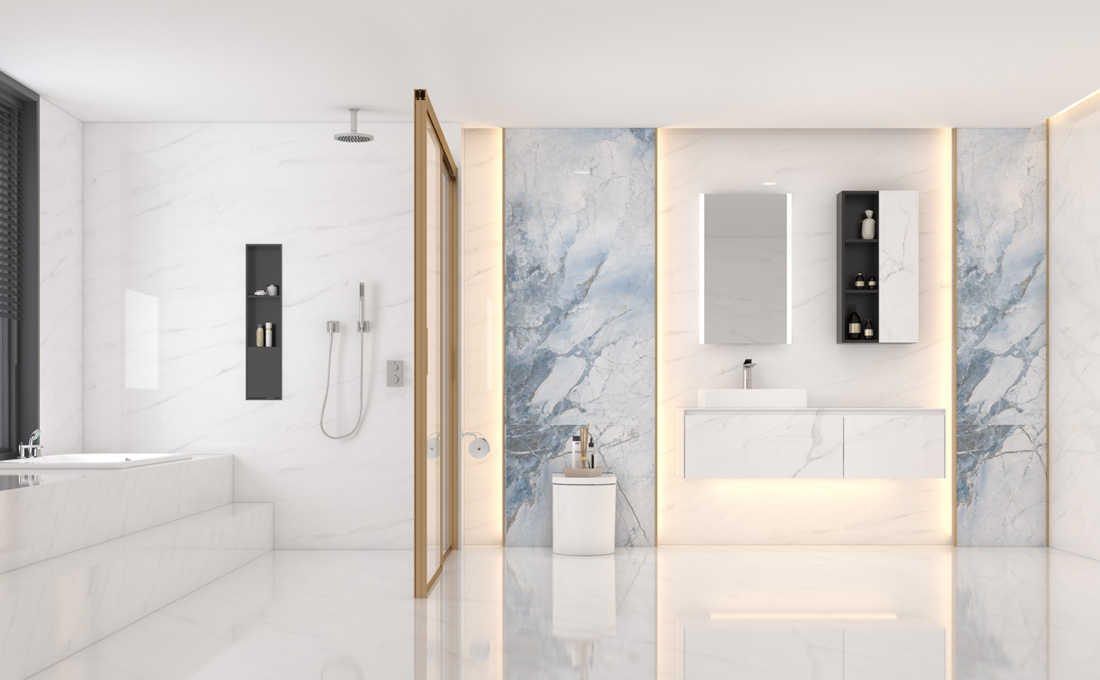 7.98㎡/#G1942313-V8 凯特蓝微轻奢的落地浴室